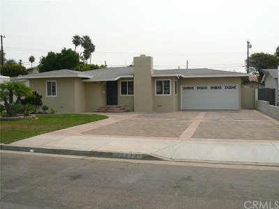 Garden Grove Single Family Home For Sale: 12222 Movius Drive