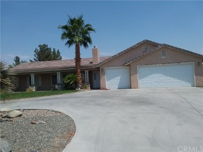 Apple Valley Single Family Home For Sale: 15337 Riverside Drive