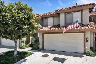 Rancho Santa Margarita Condo/Townhouse For Sale: 8 Vista La Cuesta #9