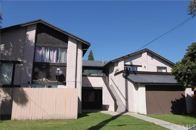 Santa Ana Multi Family Home For Sale: 1039 W Central Avenue