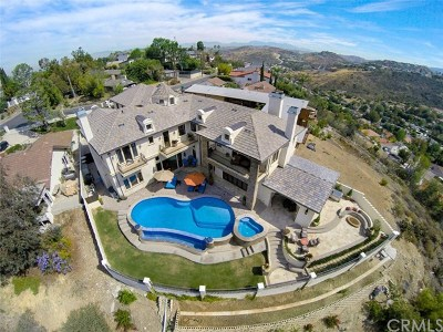 North Tustin Single Family Home For Sale: 12562 Vista Panorama