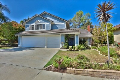 Whittier Single Family Home For Sale: 4045 Overcrest Drive