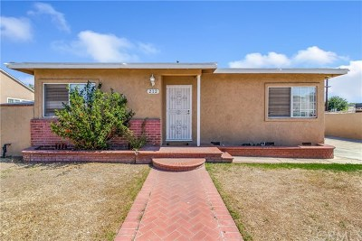 Anaheim Single Family Home For Sale: 212 E Susanne Street