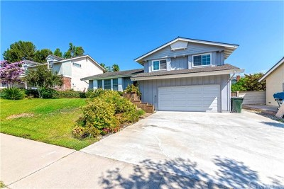 Fullerton Single Family Home For Sale: 1825 Mariposa Lane