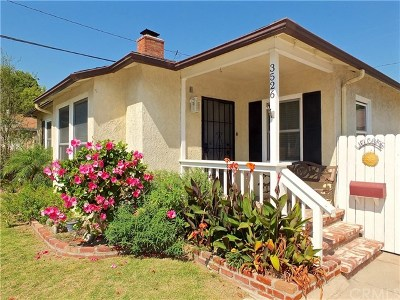 Long Beach Single Family Home For Sale: 3526 N Greenbrier Road