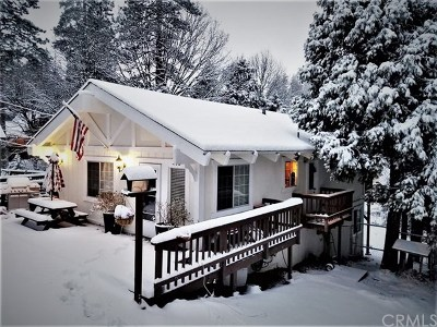 Blue Jay, Cedarpines Park, Crestline, Lake Arrowhead, Running Springs Area, Twin Peaks, Big Bear, Arrowbear, Cedar Glen, Rimforest Single Family Home For Sale: 278 Forest Circle