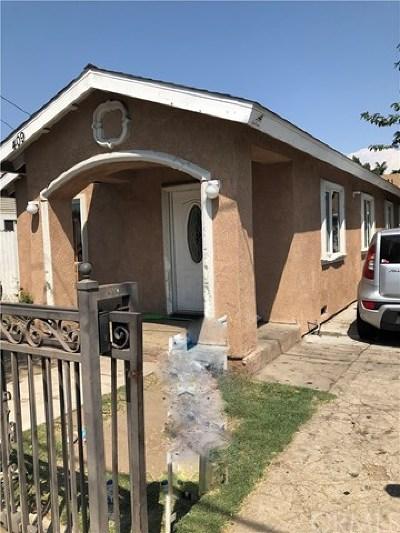 Santa Ana Single Family Home For Sale: 409 Franklin Street