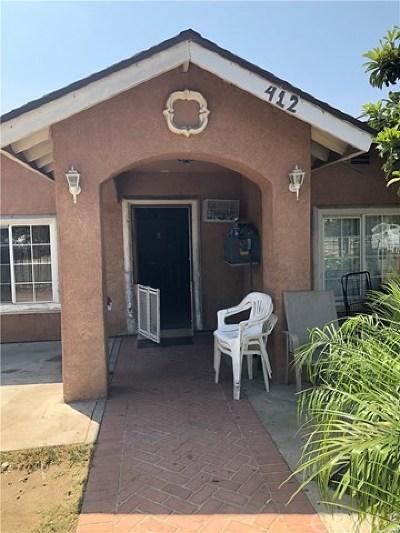 Santa Ana Single Family Home For Sale: 412 Franklin Street