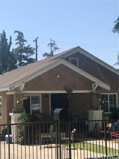 Santa Ana Single Family Home For Sale: 944 W Myrtle Street