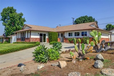 Fullerton Single Family Home For Sale: 1733 Rolling Hills Drive