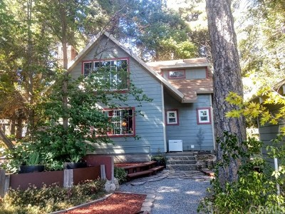 Arrowbear, Big Bear, Blue Jay, Cedar Glen, Cedarpines Park, Crestline, Lake Arrowhead, Running Springs Area, Rimforest, Twin Peaks, Wrightwood Single Family Home For Sale: 21640 Hilltop Lane