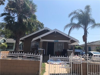 Long Beach Single Family Home For Sale: 1950 Olive Avenue