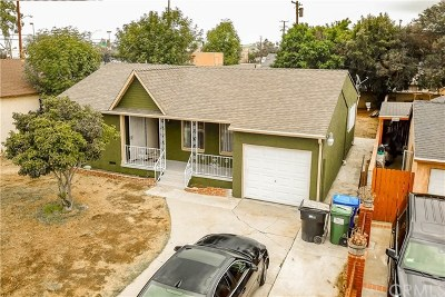 Compton Single Family Home For Sale: 14308 S Cairn Avenue