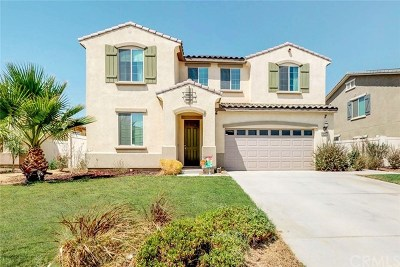 Perris Single Family Home For Sale: 1078 Viscano Court