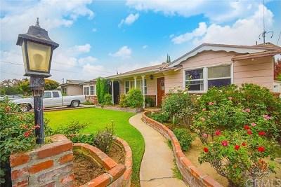 Arcadia Single Family Home For Sale: 5563 Florinda Avenue
