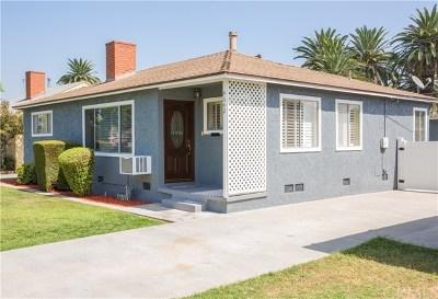 Long Beach Single Family Home For Sale: 4642 Falcon Avenue