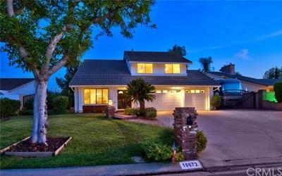 Yorba Linda Single Family Home For Sale: 18672 Sycamore Circle