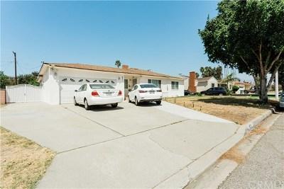West Covina Single Family Home For Sale: 631 N Morada Avenue