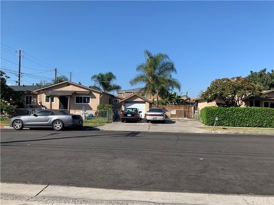 Santa Ana Multi Family Home For Sale: 1601 N Euclid/16th Street