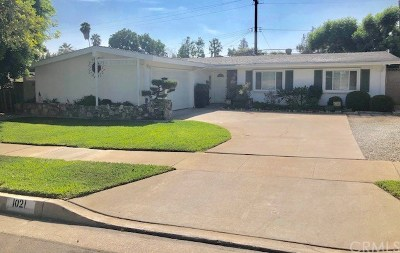 La Habra Single Family Home For Sale: 1021 Sierra Vista Drive