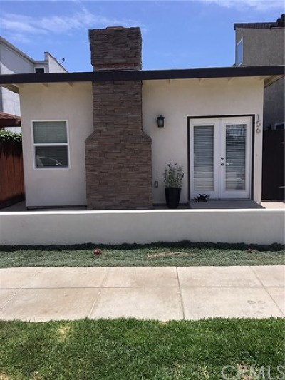 Seal Beach Single Family Home For Sale: 156 12th Street