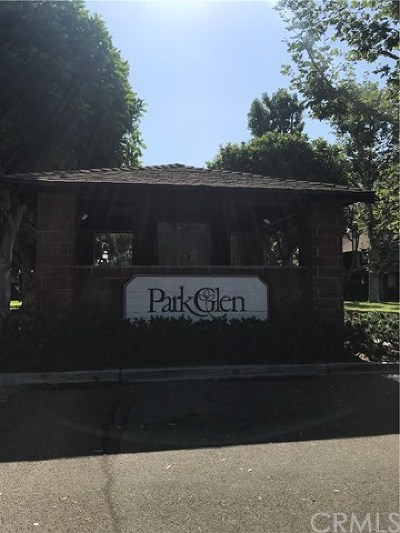 Santa Ana Condo/Townhouse For Sale: 1805 Park Glen Circle #C