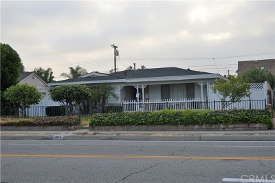 Covina Single Family Home For Sale: 4814 N Hollenbeck Avenue