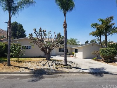 Riverside Single Family Home For Sale: 4211 Estrada Drive