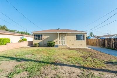 Fullerton Single Family Home For Sale: 3921 Franklin Avenue