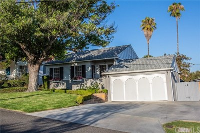 Fullerton Single Family Home Active Under Contract: 736 Carhart Avenue