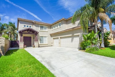 Eastvale Single Family Home For Sale: 6967 Cottonwood Circle