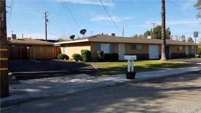 San Jacinto Multi Family Home For Sale: 368 W 3rd Street