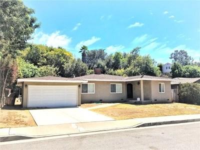 Fullerton Single Family Home For Sale: 816 Glenhaven Avenue