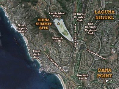 Laguna Niguel Residential Lots & Land For Sale: Crown Valley Parkway