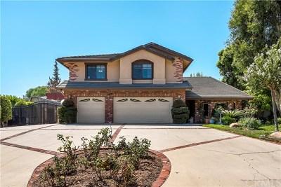 Yorba Linda Single Family Home For Sale: 4555 Vallecito Lane