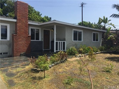 Anaheim Single Family Home For Sale: 2501 W Lorena Drive