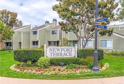 Newport Beach Condo/Townhouse For Sale: 12 Latitude Court