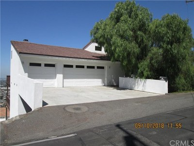 Santa Ana Single Family Home For Sale: 12282 Alta Panorama