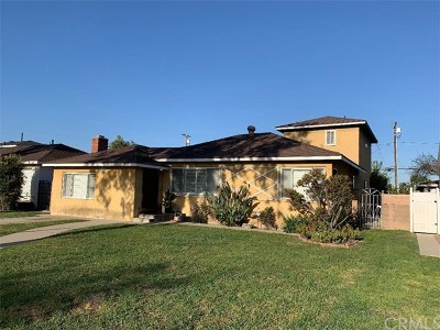 Los Alamitos Single Family Home For Sale: 10701 Chestnut Street