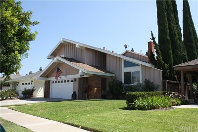 Tustin Single Family Home For Sale: 14862 Bridgeport Road