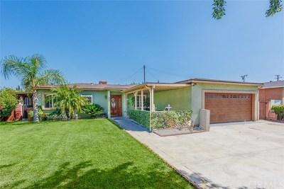 Fullerton Single Family Home For Sale: 1000 Nicklett Avenue