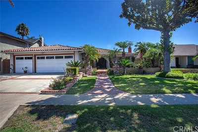 North Tustin Single Family Home For Sale: 13602 Carroll Way
