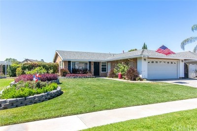 Yorba Linda Single Family Home Active Under Contract: 5421 Westmoreland Drive