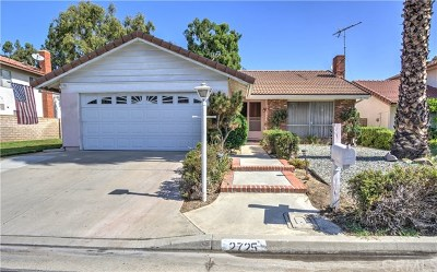 Fullerton Single Family Home For Sale: 2725 Bayberry Way
