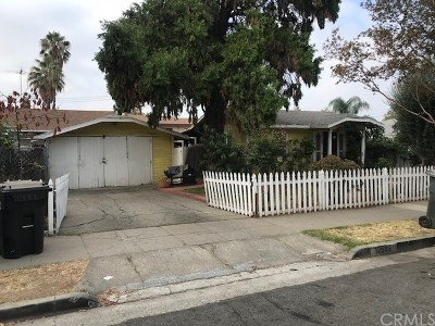 Whittier Single Family Home For Sale: 12532 Pacific Place