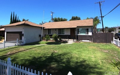 La Habra Single Family Home For Sale: 1701 Lindauer Drive