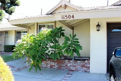 La Mirada Single Family Home For Sale: 11504 Toerge Drive
