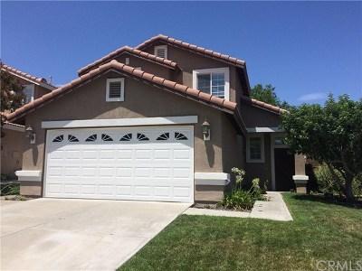 Temecula Single Family Home For Sale: 31890 Corte Algete