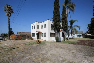Anaheim Single Family Home For Sale: 807 S Dale Avenue