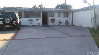 Garden Grove Single Family Home Active Under Contract: 11362 Salinaz Avenue